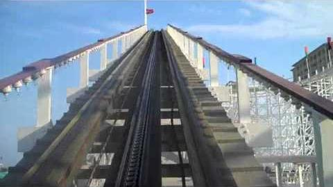 The Swamp Fox Rollercoaster - Family Kingdom Amusement Park, Myrtle Beach, SC