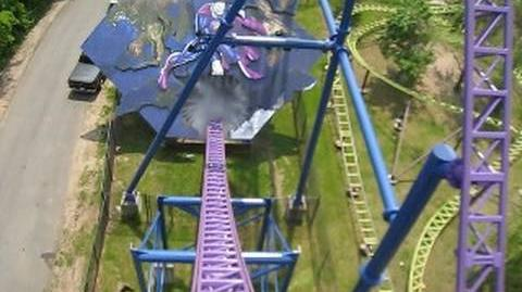 Bizarro (Six Flags New England) - OnRide - (480p)