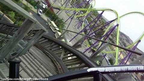 Roar (Six Flags Discovery Kingdom) - OnRide - (720p)