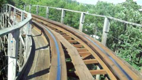 Grizzly (Kings Dominion) - OnRide - (480p)