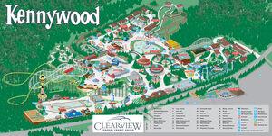 Kennywood map