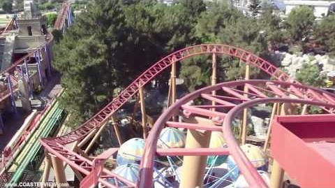Sierra Sidewinder (Knott's Berry Farm) - OnRide - (720p)