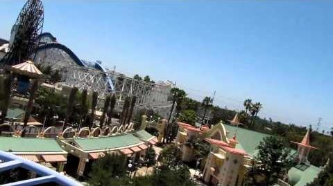 Goofy's Sky School on-ride POV Disney's California Adventure