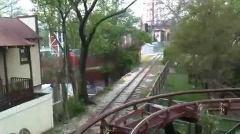 Mini Mine Train (Six Flags Over Texas) - OnRide - (360p)