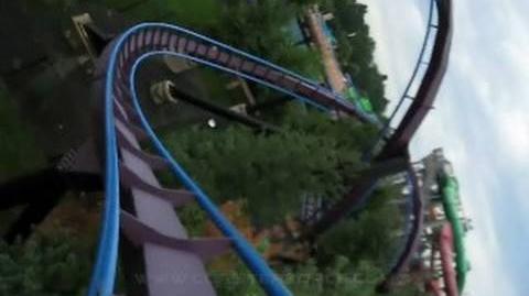 Batman - The Dark Knight (Six Flags New England) - OnRide - (480p)