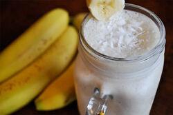 Coconut Banana Colada