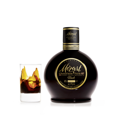 Black mozart chocolate liqeur