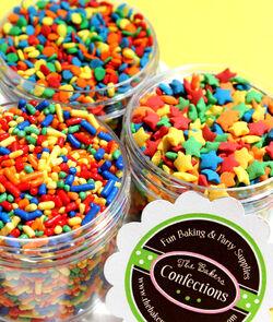 Varieties of sprinkles