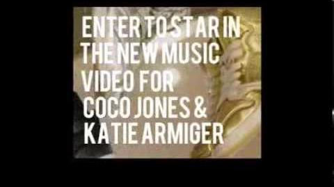 "STAR in Coco Jones & Katie Armiger's NEW MUSIC VIDEO, ""SHINE LIKE GLITTER!"" Contest"