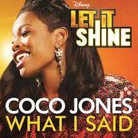 Coco jones what i said