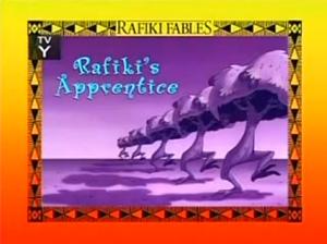 Rafiki's Apprentice