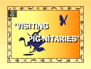Visiting Pig-nitaries