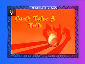 Can't Take a Yolk