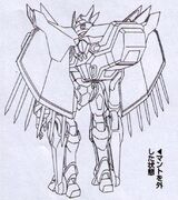 Sketch-Lancelot Grail with back appendages