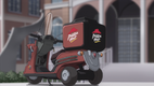 Pizza Hut - Delivery Vehicle