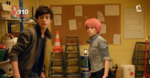 Ulrich and Aelita in the bunker CLE 15
