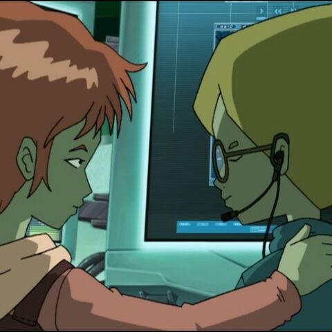 The polymorphic clone of Aelita convinces Jeremy.