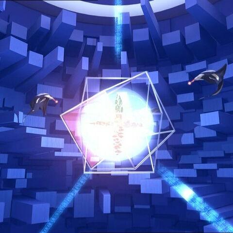 Attack at the core of Lyoko.