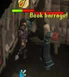 Book barrage