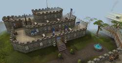 Castillo de Lumbridge.