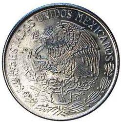 MXP 1 Peso Copper