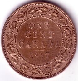 CAN CAD 1917 1 Cent