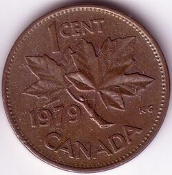CAN CAD 1979 1 Cent