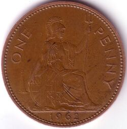 GBP 1962 1 Penny