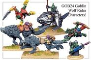 GOB24 Goblin Wolf Rider Characters (4)