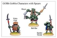 GOB06 Goblin Characters With Spears (3)