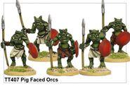 TT407 Pig Faced Orcs