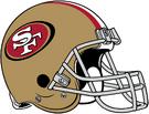 NFL-NFC-SF Helmet - Left Face