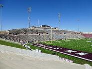 Aggie Memorial Stadium - South Side End Zone & Press Box 01