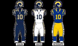 St louis rams uniforms12