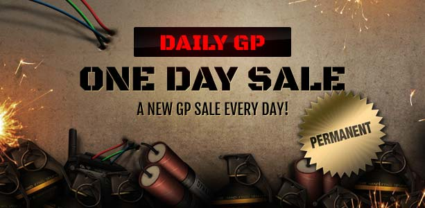 Daily GP One Day Sale Banner