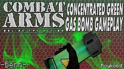 Combat Arms - Concentrated Green Gas Bomb Gameplay Royko