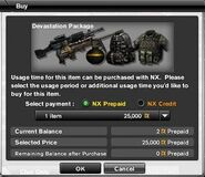 Devestation Package Prices