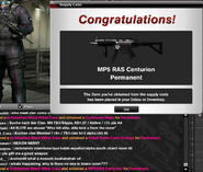 MP5 RAS CENTURION