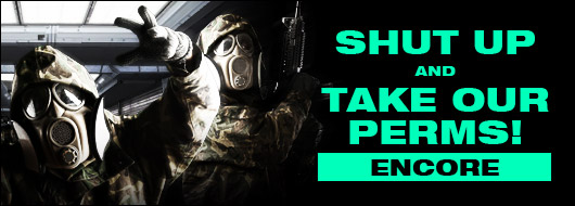 Shut Up and Take Our Perms Encore Sale Ad