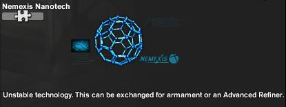 Inventory NEMEXIS Nanotechs
