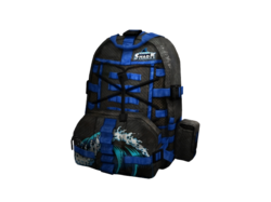 Ghost Shark Backpack High Resolution