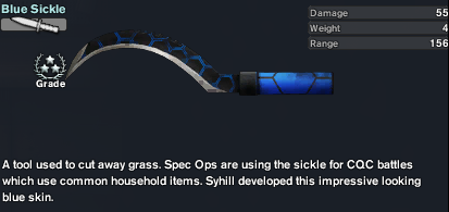 Blue Sickle (The Arsenal)