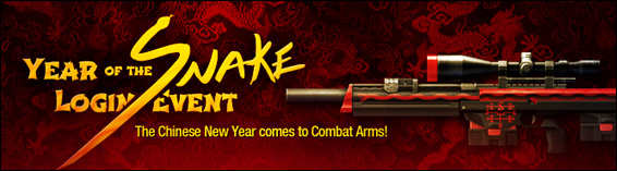 Year of the Snake Login Event