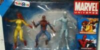 MARVEL COMICS: Spider-Man and his Amazing Friends (3.75 inch figure set)