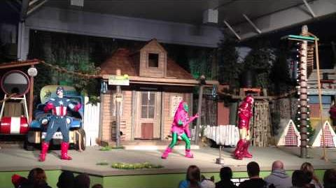 Columbus Zoo - Marvel LIVE Action Show 2012 - Green Goblin Final Showdown