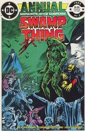 Swamp thing annual 2