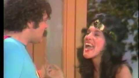 The Burns and Schreiber Comedy Hour (1974) Wonderwoman vs Superman with Ruth Buzzi