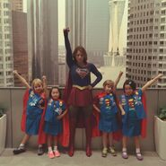 Supergirl meets Super Girl Scouts 1
