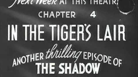 The Shadow serial chapters 1 7