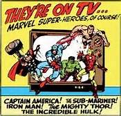 1966 MARVEL CARTOON AD 1